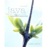 Java Software Solutions plus MyProgrammingLab with Pearson eText -- Access Card Package