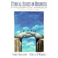 Ethical Issues in Business : A Philosophical Approach