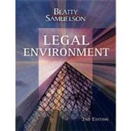Legal Environment (with InfoTrac)