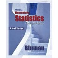 Combo: Elementary Statistics, A Brief Version with MINITAB Student Release 14