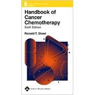 Handbook of Cancer Chemotherapy