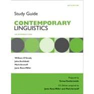 Study Guide for Contemporary Linguistics
