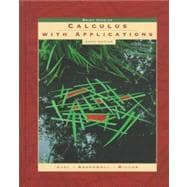 Calculus With Applications: Brief Version