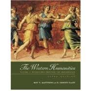 The Western Humanities, Volume 1