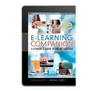 E-Learning Companion Student�s Guide to Online Success
