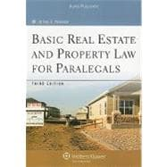 Basic Real Estate & Property Law for Paralegals