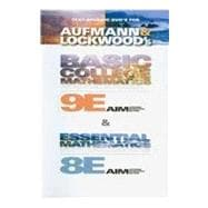 Text-Specific DVD for Aufmann/Lockwood's Basic College Mathematics, 9th