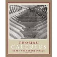 Thomas' Calculus Early Transcendentals Part 1 (Single Variable, chs. 1-11)
