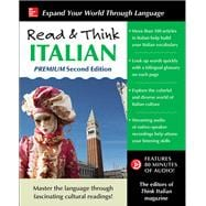 Read & Think Italian, Premium Second Edition 9781259836336R