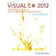 Microsoft� Visual C# 2012, 5th