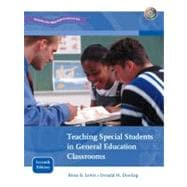 Teaching Special Students In General Education Classrooms