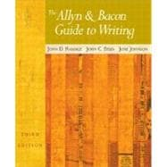 The Allyn & Bacon Guide to Writing with MLA Guide