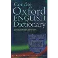 Concise Oxford English Dictionary Thumb Edition