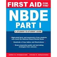 First Aid for the NBDE Part I : A Student-to-Student Guide
