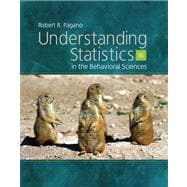 Understanding Statistics In The Behaviorial Sciences