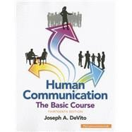 Human Communication The Basic Course
