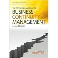The Definitive Handbook of Business Continuity Management, 2nd Edition
