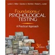Foundations of Psychological Testing : A Practical Approach