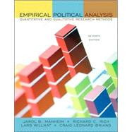 Empirical Political Analysis : Quantitative and Qualitative Research Methods