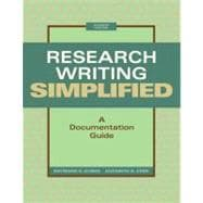 Research Writing Simplified : A Documentation Guide