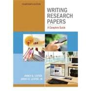 Writing Research Papers: A Complete Guide (Spiral)