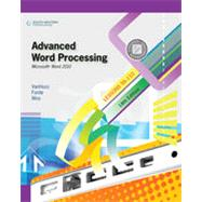 Advanced Word Processing, Lessons 56-110: Microsoft Word 2010, 18th Edition