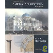 American History with Map and  Study Guide CD, Volume One; MP