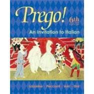 Prego! : An Invitation to Italian: Student Prepack with Bind-In Card