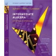 Intermediate Algebra An Applied Approach, Student Support Edition