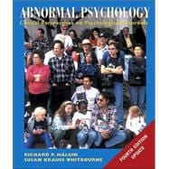 Abnormal Psychology: Clinical Perspectives on Psychological Disorders with MindMap Plus CD-ROM and PowerWeb, Updated 4e