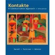 Kontakte: A Communicative Approach Student Edition with Online Learning Center Bind-In card