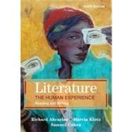 Literature: the Human Experience : Reading and Writing