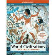 World Civilizations: The Global Experience, Volume Itlas Edition Value Pack (includes Documents in World History, Volume 1 & Longman Atlas of World History by maps.com)