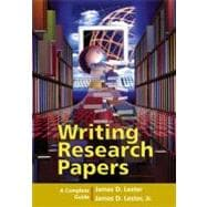Writing Research Papers: A Complete Guide (spiral-bound)