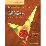 Essential Mathematics with Applications: Student Support Edition