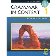 Grammar in Context 1 (with Heinle�s Brief Writer�s Handbook)