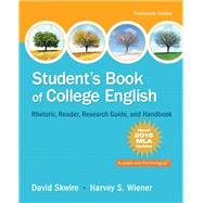 Student's Book of College English, MLA Update Edition