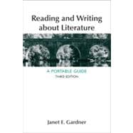 Reading and Writing About Literature A Portable Guide