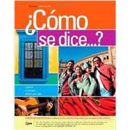 Bundle: C�mo se dice...?, Enhanced, 10th + Student Activities Manual + Premium Web Site Printed Access Card, 10th Edition