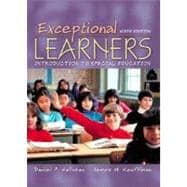 Exceptional Learners: Introduction to Special Education With Casebook