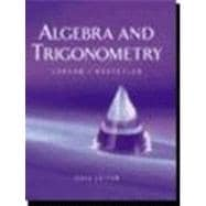 Algebra and Trigonometry (Book with CD-ROM)