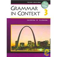 Grammar in Context 3 (with Heinle�s Brief Writer�s Handbook)