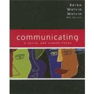 Communicating: A Social and Career Focus (Book alone)