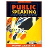 Public Speaking : Strategies for Success