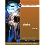 Welding Level 1 Trainee Guide, Hard Cover