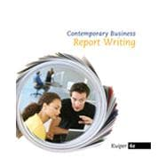 Contemporary Business Report Writing, 4th Edition