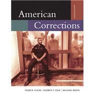 American Corrections (with InfoTrac)