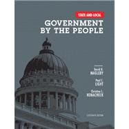 State and Local Government by the People Plus MySearchLab with eText -- Access Card Package