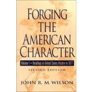Forging the American Characters : Readings in U. S. History