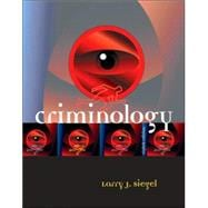 Criminology (with InfoTrac)